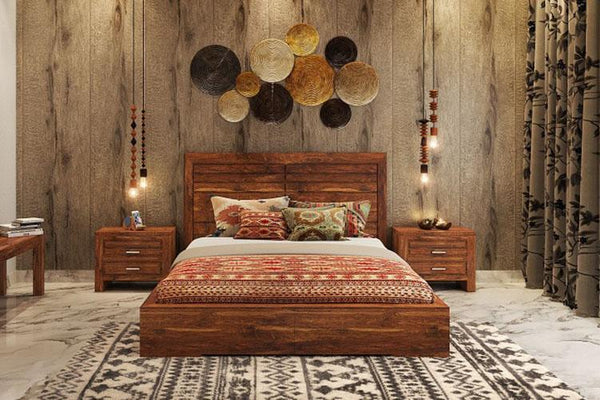 Solid Wood Imperia Bed