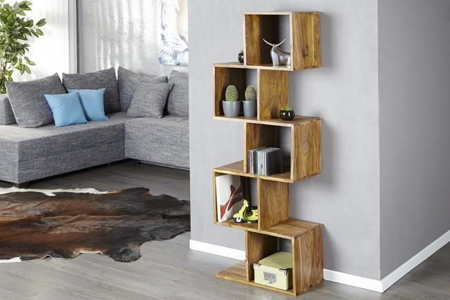 Solid Wood Charlie Bookcase