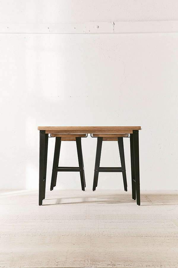 Solid Wood INDIANA Breakfast / Bar Chair