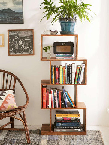 Solid Wood Voted Bookcase