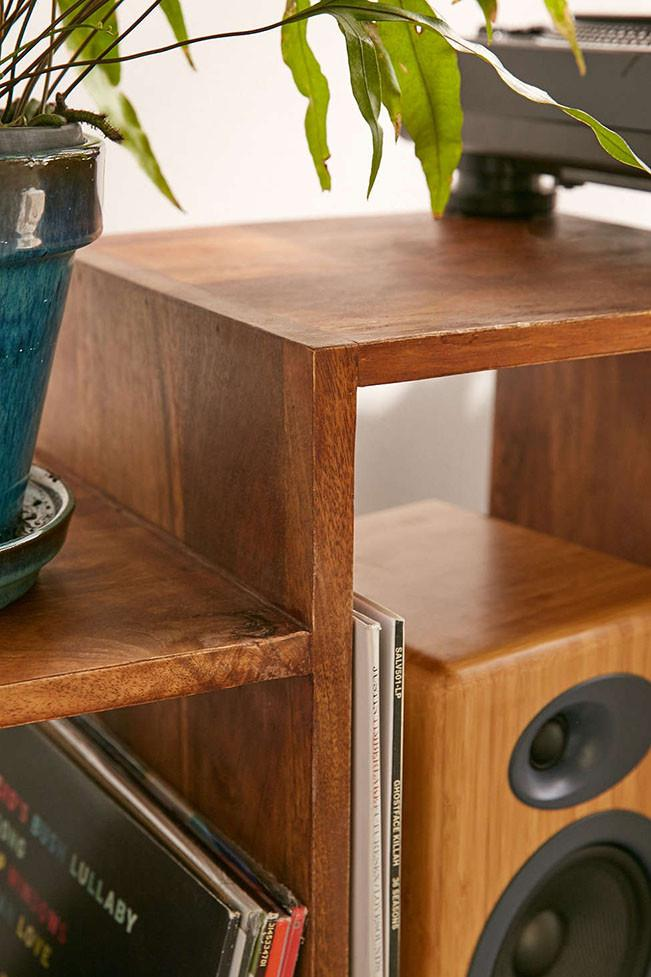 Solid Wood Voted Smart Tv unit