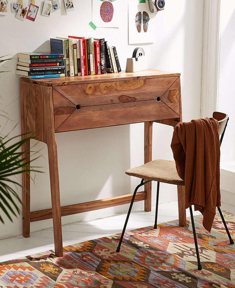 Awesome Solid Wood Slant Writing Study Table Home Interior And Landscaping Eliaenasavecom