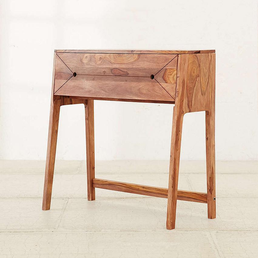 Solid Wood Slant Writing / Study Table
