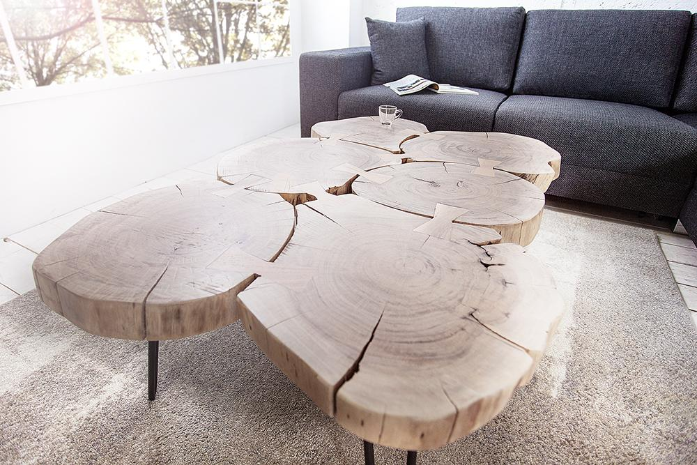 Solid Wood INDIANA Coffee Table