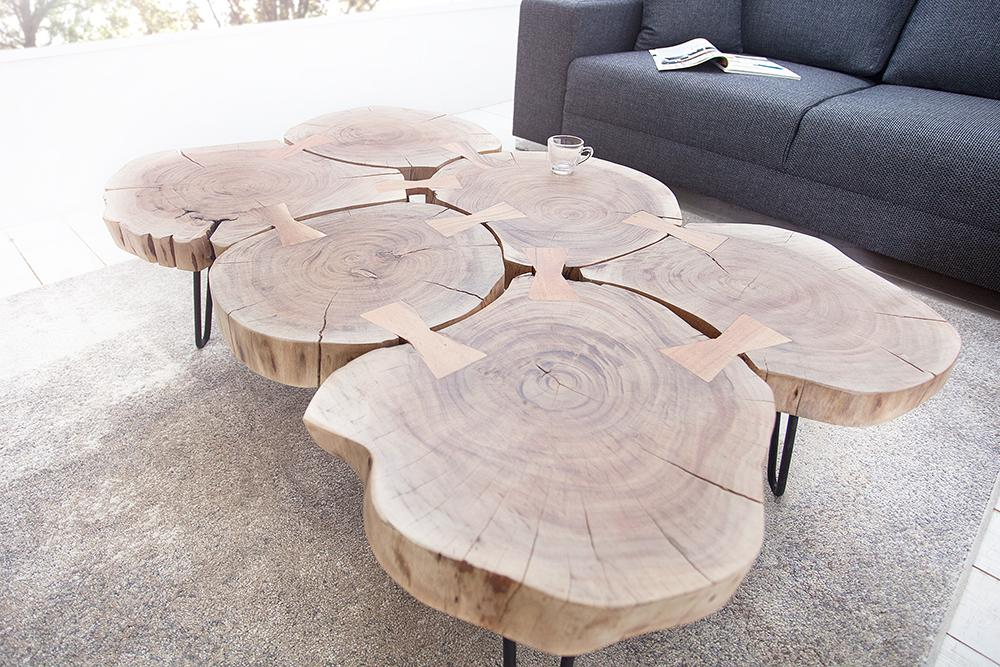 Buy Solid Wood Indiana Coffee Table Online New Launches Coffee