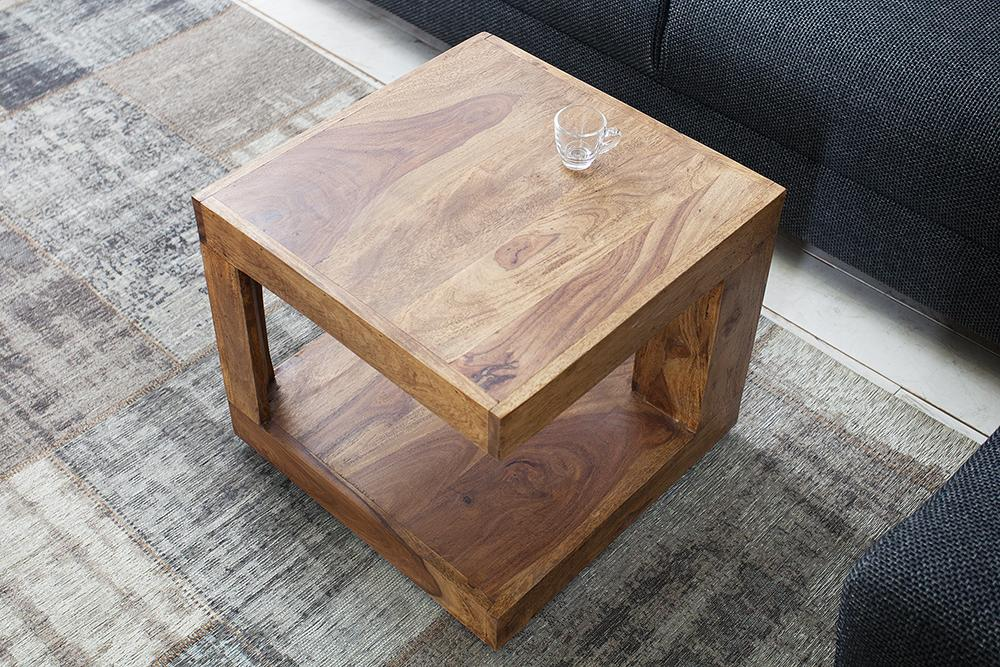 Solid Wood Aspaki Lamp Table