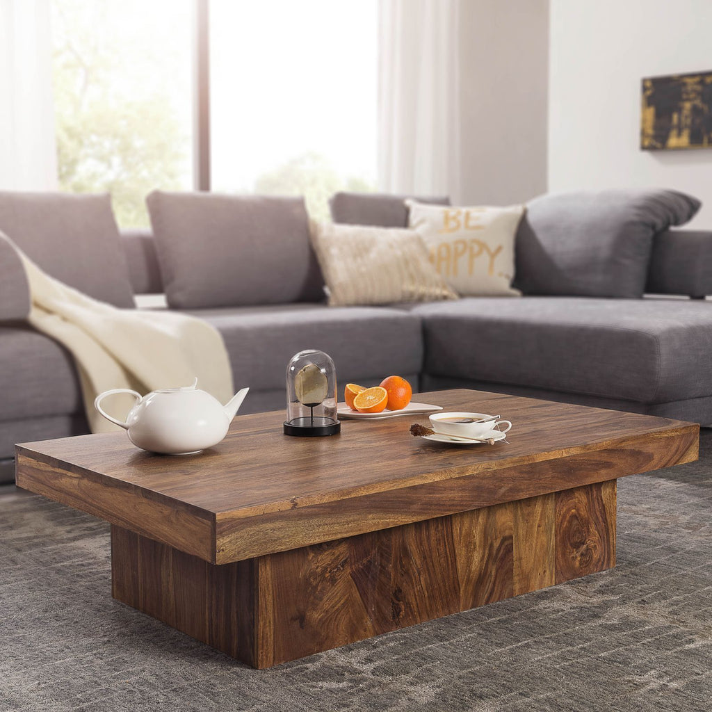 Solid Wood Charlie Low Coffee Table