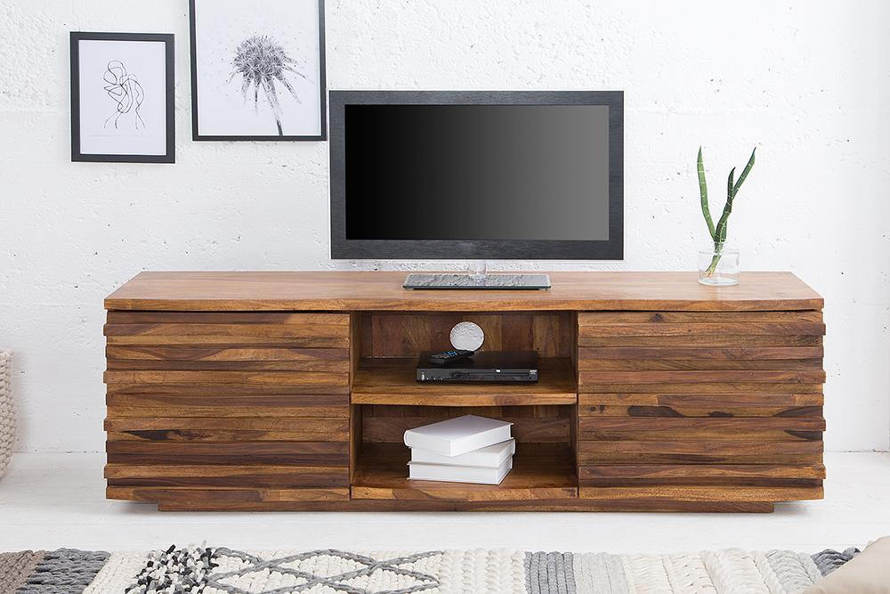 Solid Wood Boulevard Tv Unit