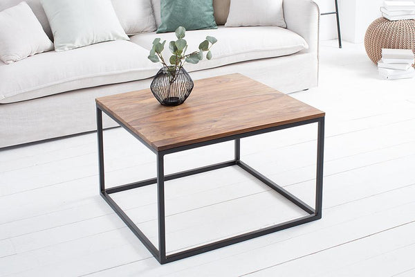 Solid Wood Indiana Rock Lamp Table