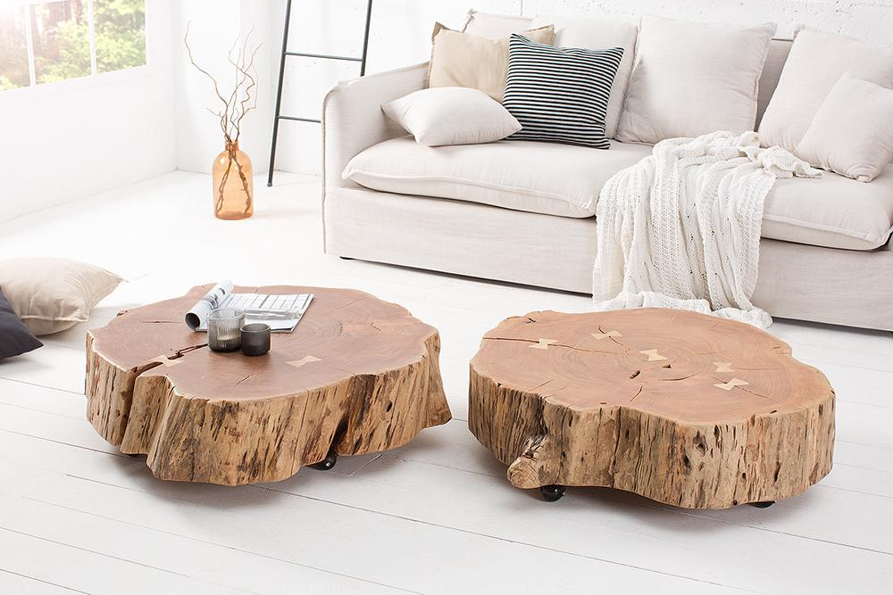 Buy Solid Wood Indiana Roll Grand Coffee Table Online New Launch