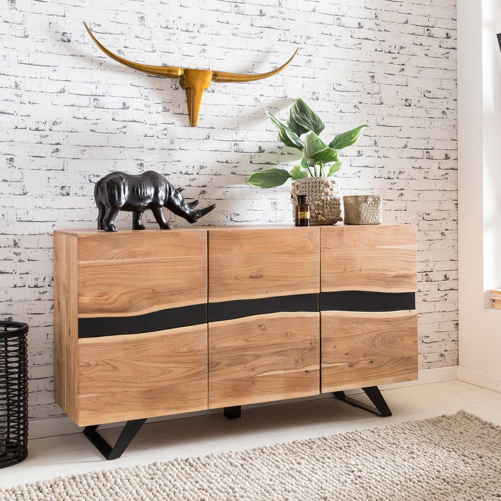 Solid Wood INDIANA Nile Sideboard