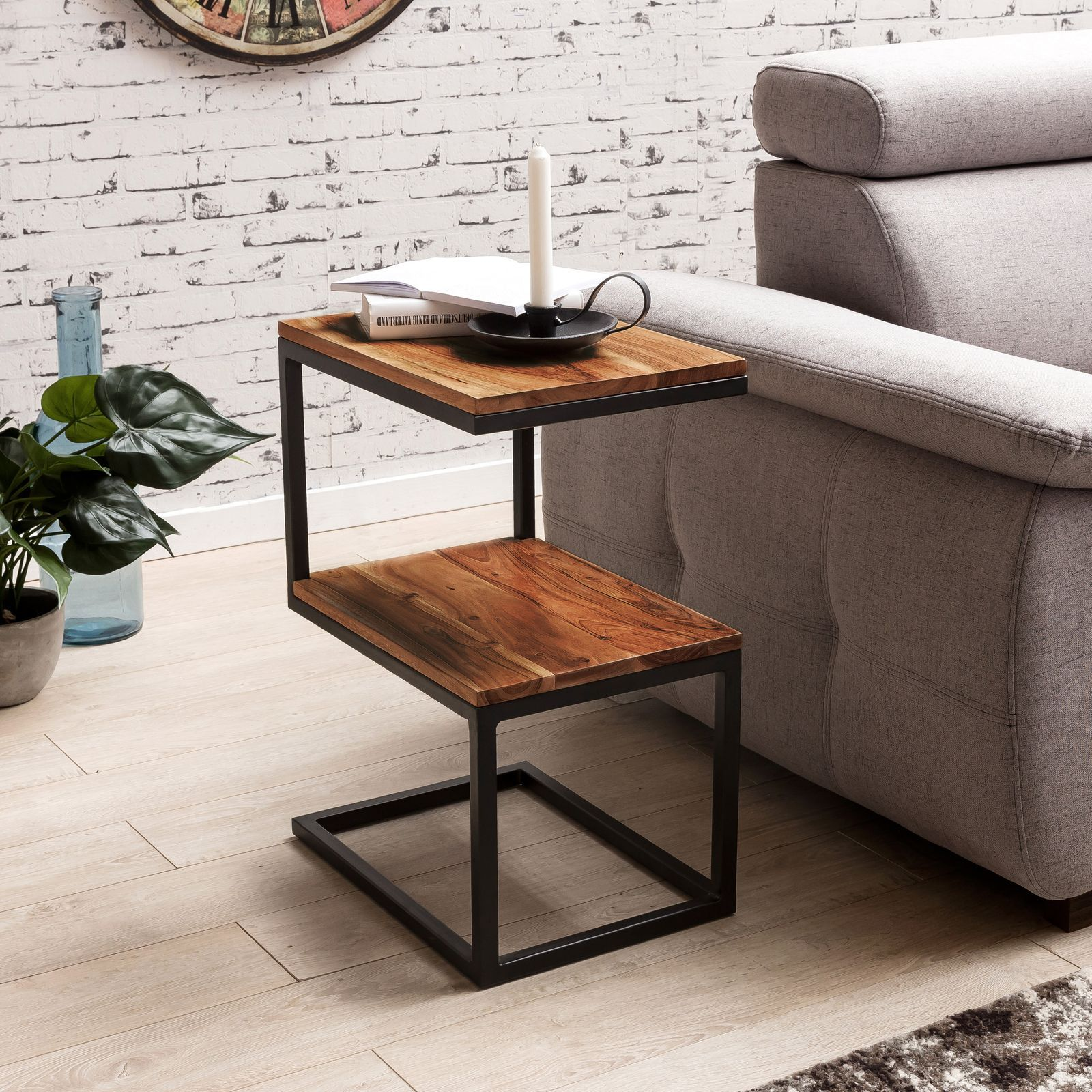Amazing Solid Wood S Shaped Sofa Table Download Free Architecture Designs Scobabritishbridgeorg