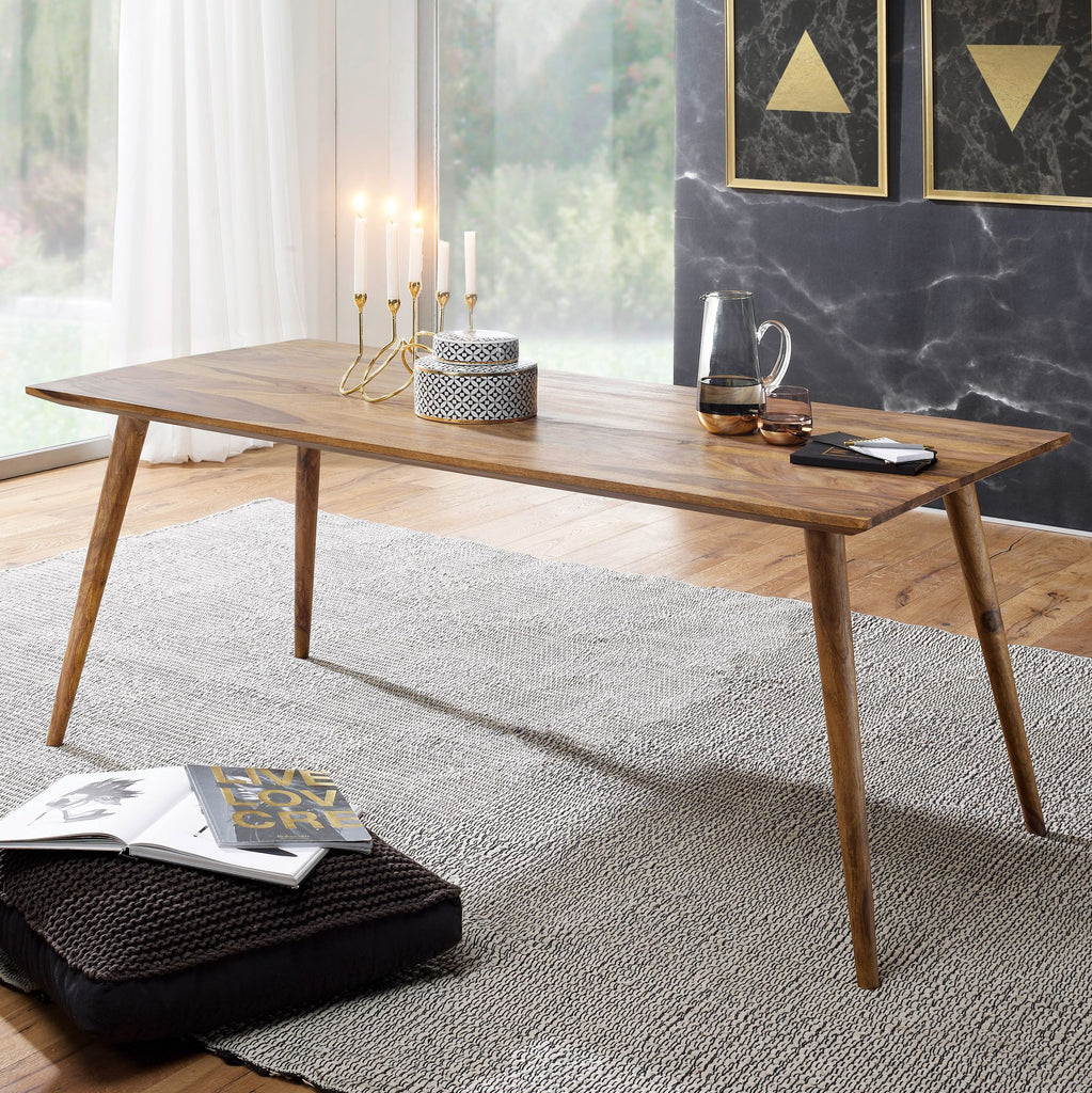Solid Wood Eva Dining Table
