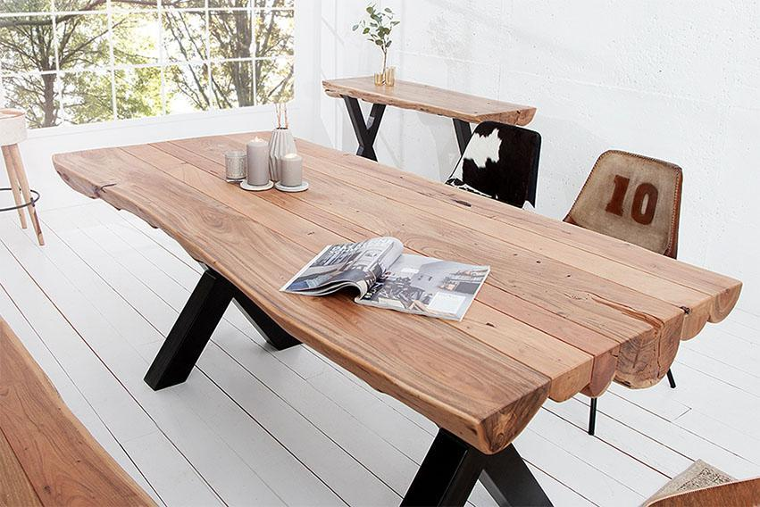 Solid Wood Indiana Thar Dining Table