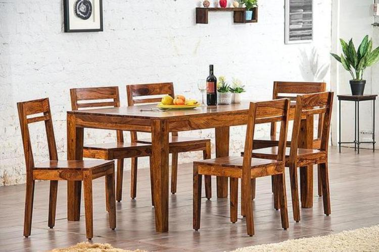 6 Seater Set (1 Table + 6 Chairs)
