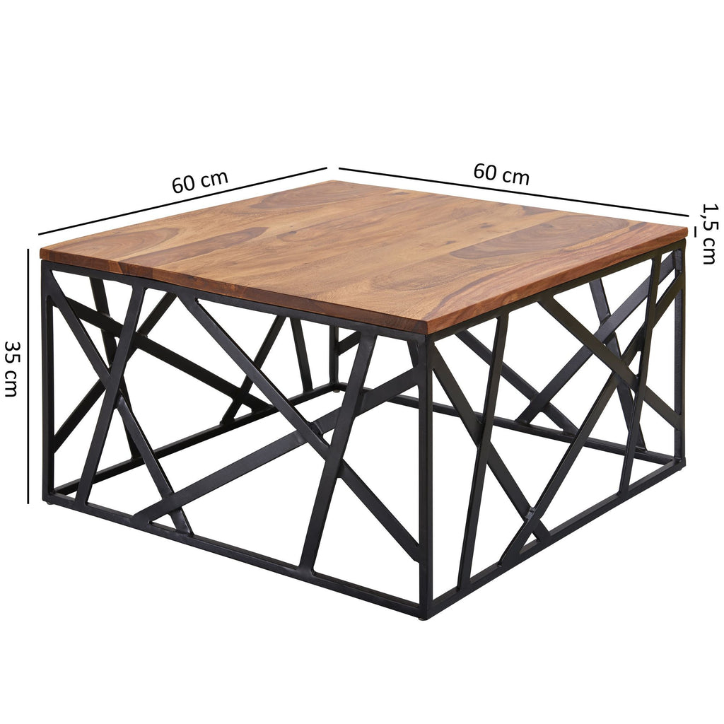 Solid Wood INDIANA Astra Coffee Table
