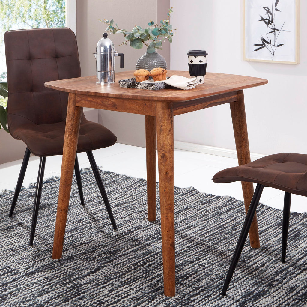 Solid Wood Eva Dining Set 2 Seater