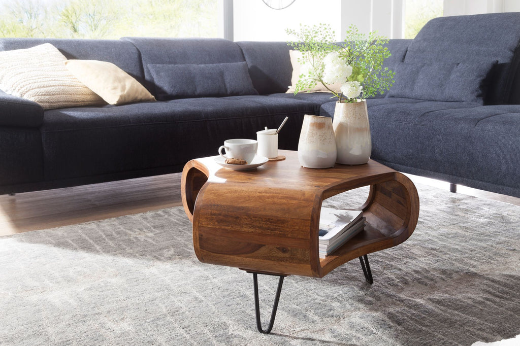 Solid Wood Long Jonhs Coffee Table