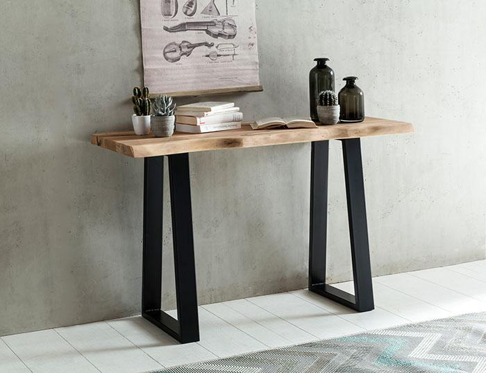 Solid Wood Indiana Live Console Table