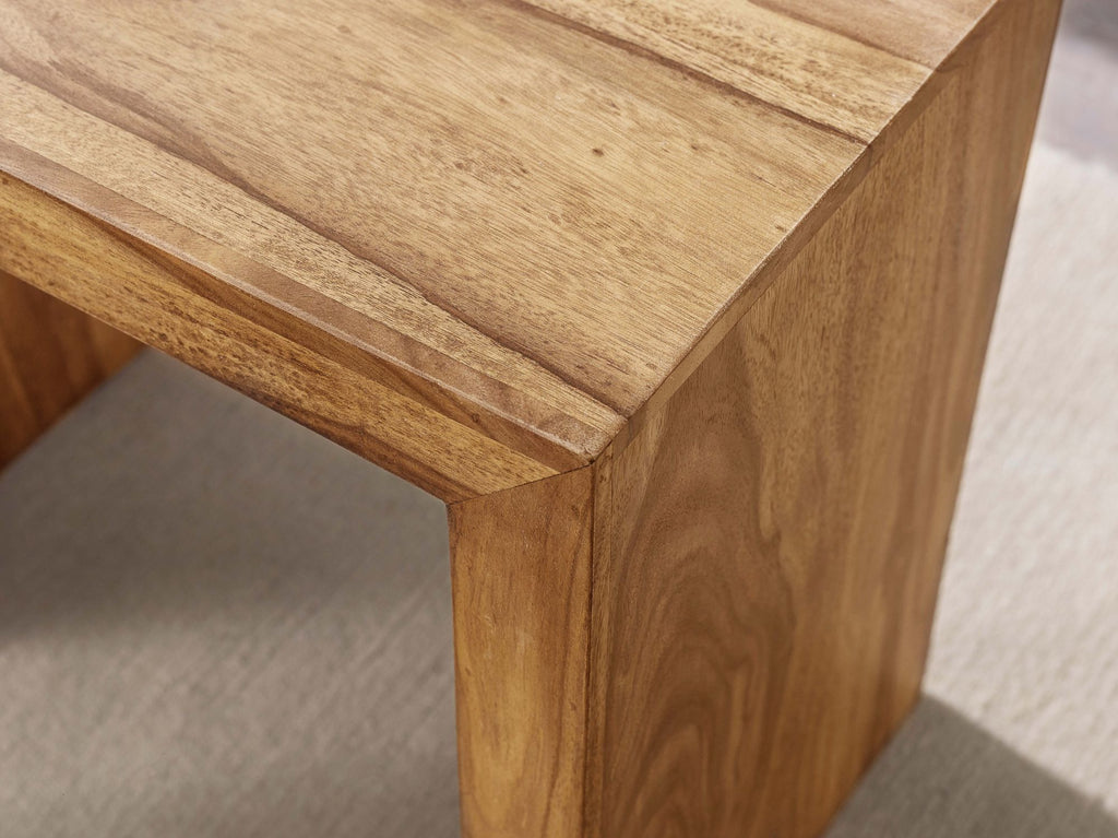 Solid Wood Cube Stool set of 3