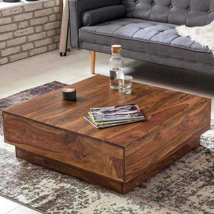 Solid Wood Charlie Low Coffee Table Buy Furniture Online At Insaraf
