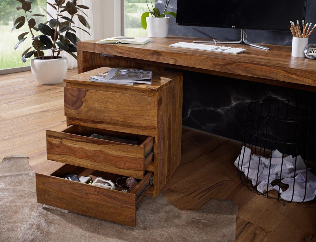 Durban Solid Sheehsam Wood Writing / Office Desk