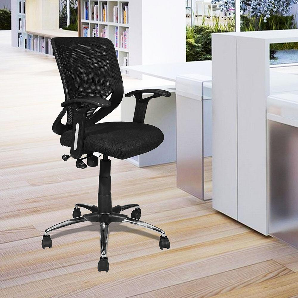 Sierra Revolving & Height Adjustable Ergonomic Office Chair with Pushback Tilt
