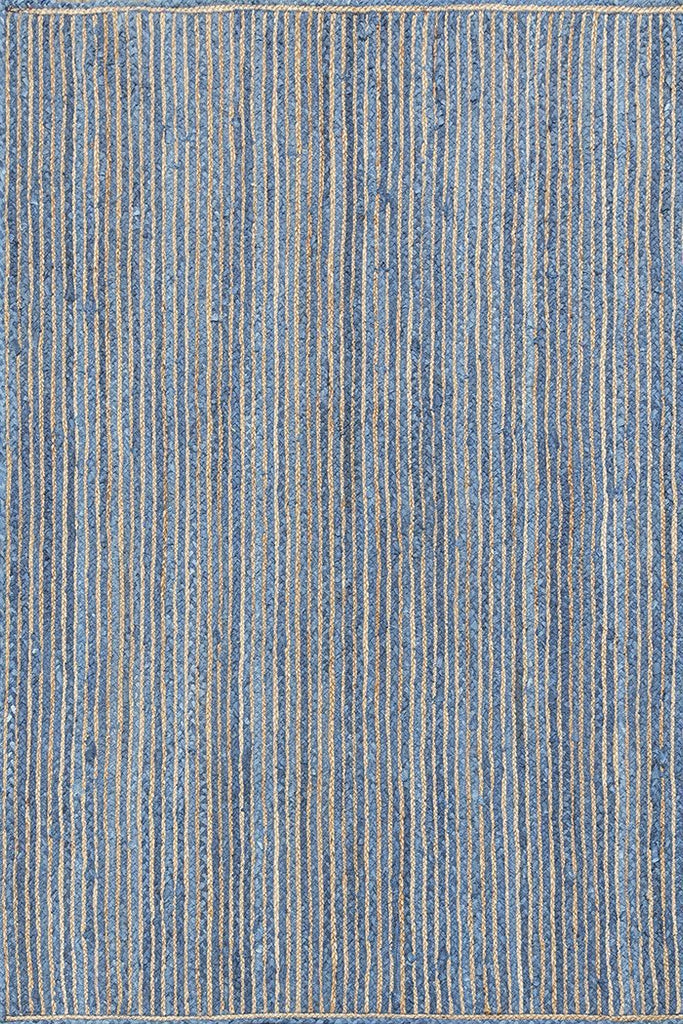 Arlo Baha Blue Baided Rug Durrie