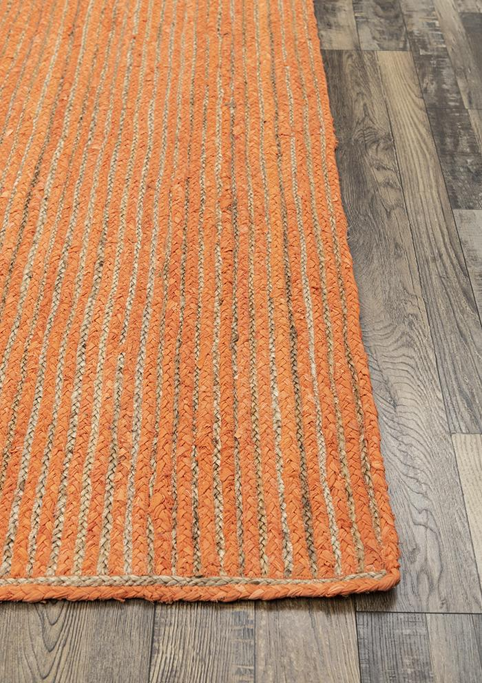 Nola Coral Baided Rug Durrie