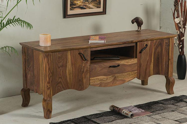Solid Wood Tania Tv Unit