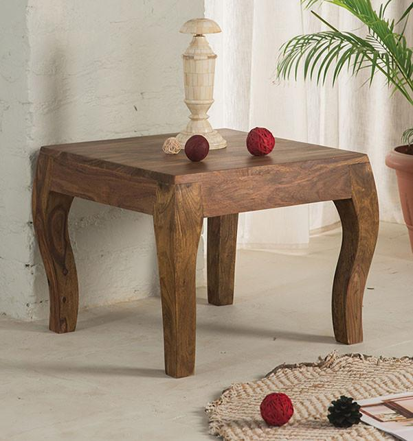 Solid wood tania lamp table solid sheesham wood furniture solid wood tania lamp table aloadofball Choice Image