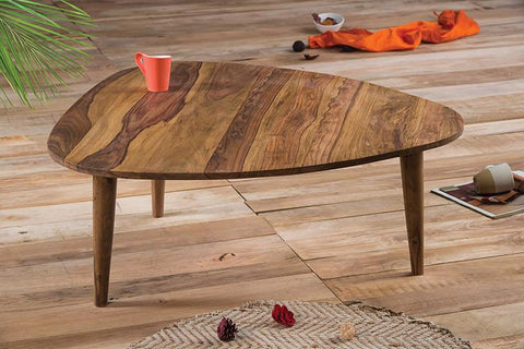 Solid Wood Buck Trio Coffee Table