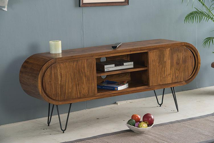 Solid Wood INDIANA Tv Unit