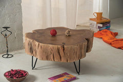 Solid Wood INDIANA One Coffee Table