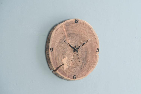 INDIANA Gure - Solid Wood Clock