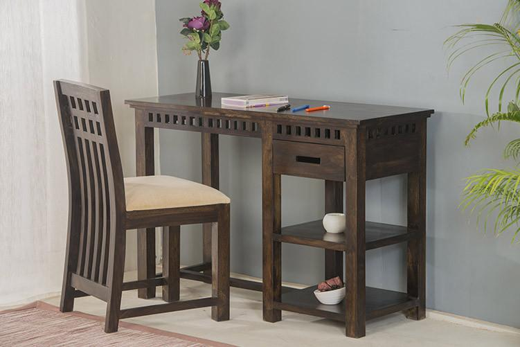 Buy Solid Wood Kuber Writing Study Table Online New
