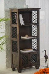 Solid Wood Jail Bookcase