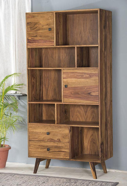 Solid Wood Buck Bookcase
