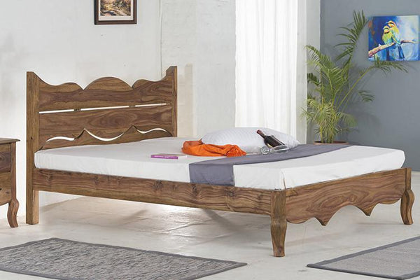 Solid Wood Tania Grand Bed