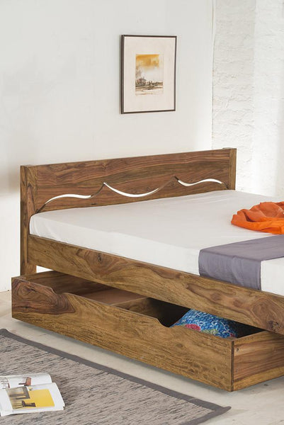 Solid Wood Tania Bed