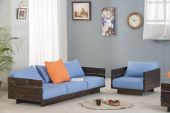 Solid Wood Turner Sofa Set