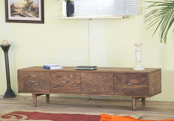 Solid Wood Nick Tv Unit