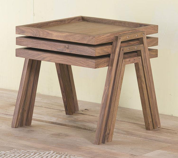 Charlie Stool Set of 3 Pcs