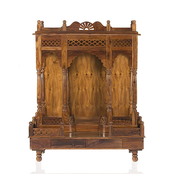 Buy Solid Wood Poster Bed Maharaja Bed Online In India