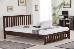 Solid Wood Cube Classic Bed
