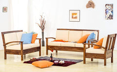 Solid Wood Vernor Sofa Set
