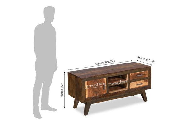 Solid Wood ETER Tv Unit