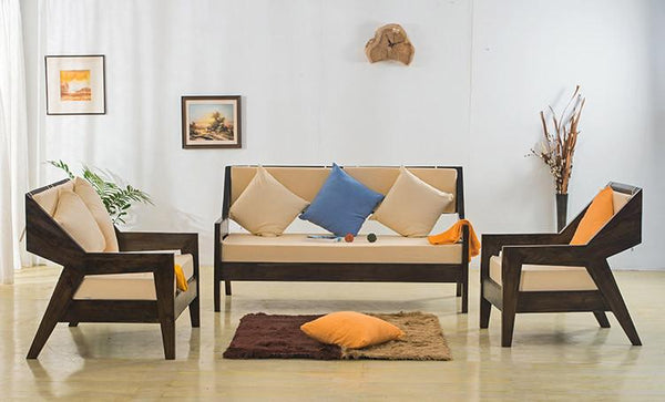 Solid Wood ETER Sofa Set