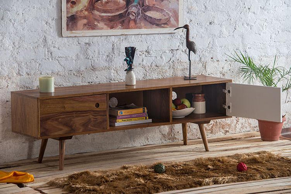 Solid Wood EVA Tv Unit