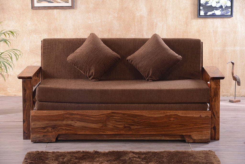 Solid Wood Avon Sofa cum Bed